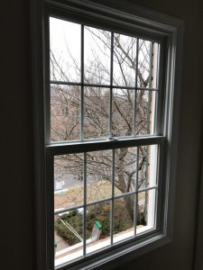 Double hung window in New Jersey